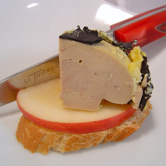 Whole duck foie gras with truffles (5%) – 130g