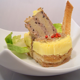 Marble terrine with truffled duck liver (2% truffles) – 310 g