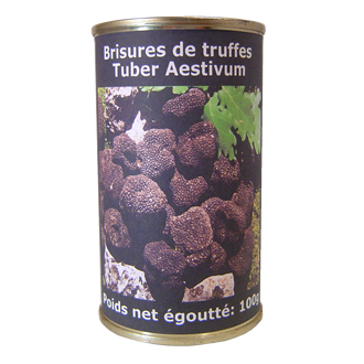 Brisures de truffes d'été 100g	Summer truffles breakings 100g