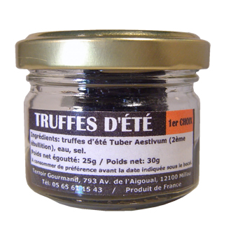 Brushed 1st choice summer truffles 25g