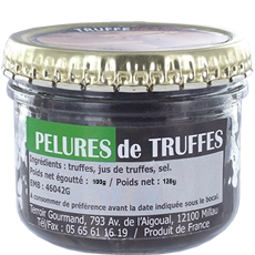 Black truffles peelings 100g