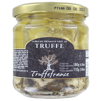 Cheese cubes and truffle 180g
