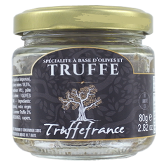 Olives and truffle cream