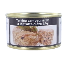 Country-style terrine with summer truffle (3%) – 130 g