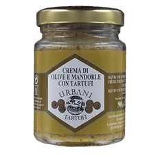 Cream of olives and almonds with truffles 90 g