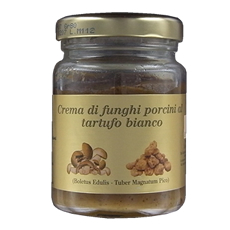 Cream of cep mushrooms with white truffles 80 g