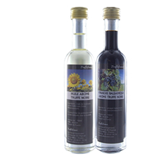 Duo of black truffle-flavoured oil and vinegar 100 ml