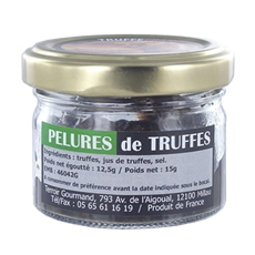 Black truffles peelings 12.5g