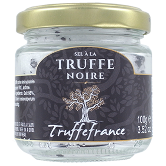 Fine salt with blak truffle (Tuber Mélanosporum) 100g