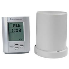 Wireless electronic rain gauge