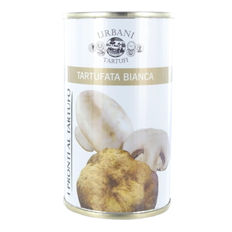 Button mushrooms and white truffle 180 g
